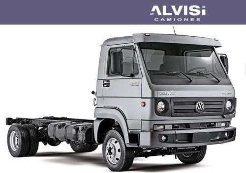volkswagen 10-160 chasis cabina 6.2 toneladas de carga + iva