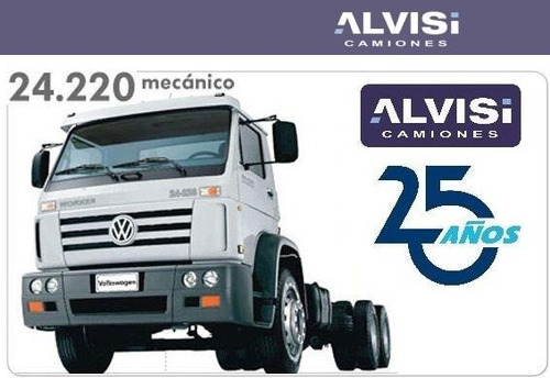 volkswagen 24-220 motor convencional cummins + iva