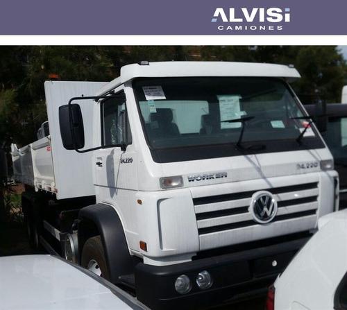 volkswagen 24-220 volcadora de fábrica entrego hoy !!! + iva
