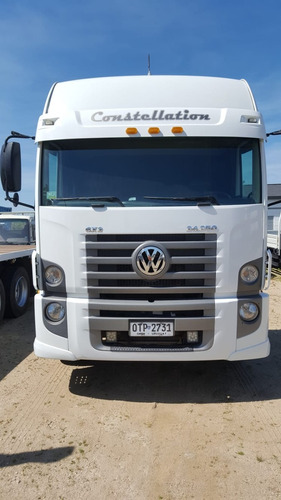 volkswagen 24250 constellation 6x2 tractor excelente estado