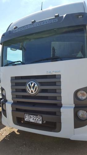 volkswagen 24280 constellation 6x2 tractor