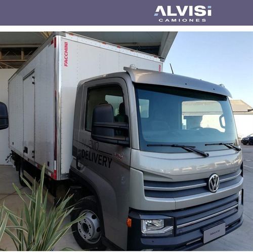 volkswagen 6-160 con furgón semi térmico precio + iva