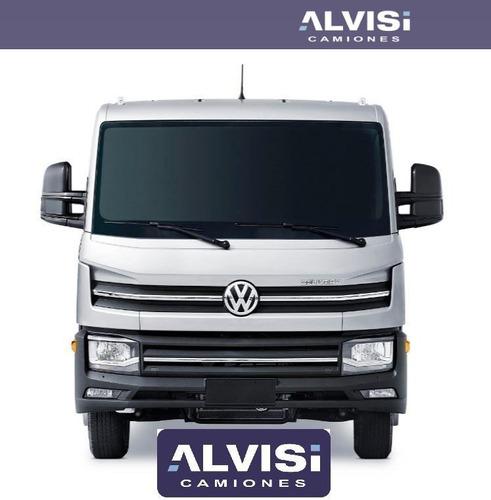 volkswagen 6.160 camión delivery carga 3.8 ton. + iva