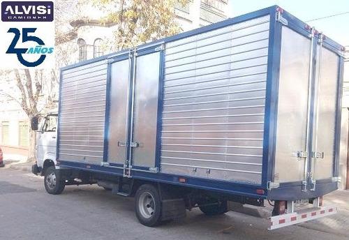 volkswagen 8.120 c/ furgón de aluminio 6.20 metros 0km + iva