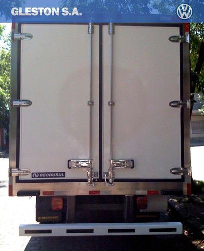 volkswagen 9-150 worker con furgón de congelado impecable!