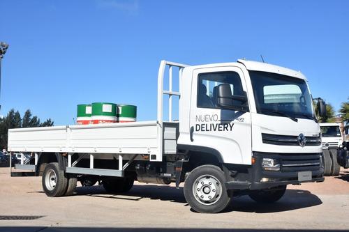 volkswagen 9-170 delivery 4x2 con carrocería plataforma