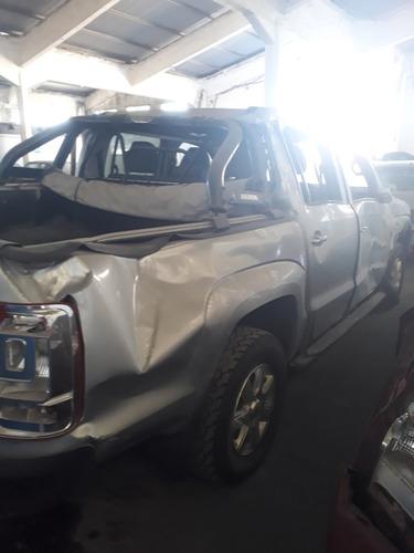 volkswagen amarok choque chico sin deuda 093992517