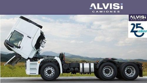 volkswagen constellation 24-280 tractor doble eje + iva