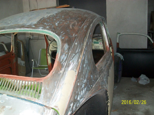 volkswagen  fusca año 1963