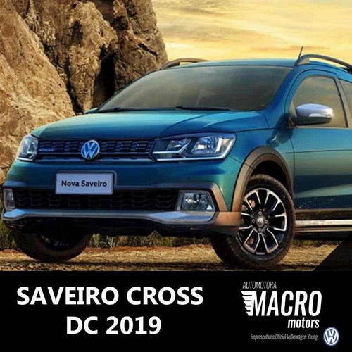volkswagen saveiro doble cabina cross 2019