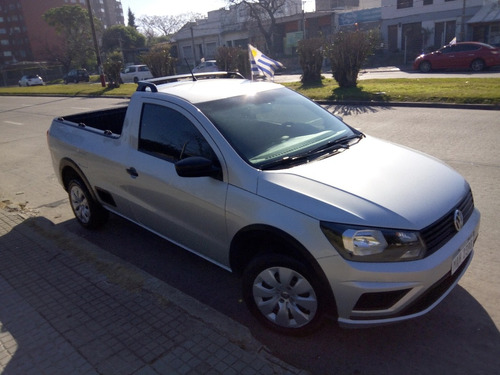 volkswagen saveiro pick up cabina simple 1.6cc año 2018 full