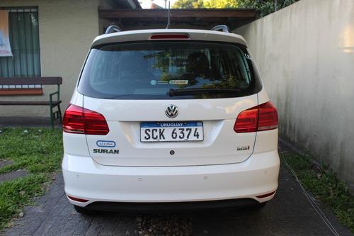 volkswagen suran 1.6 highline unico dueño un año de uso