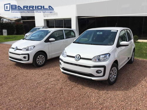volkswagen up hatchback ent. inmediata 2018 0km - barriola