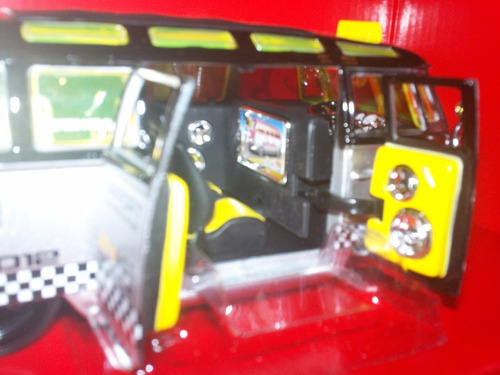 volkswagen van samba taxi escala 1:25 taxi maisto nueva leer