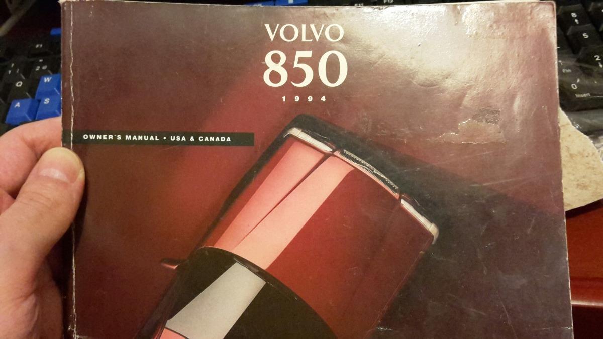 volvo 850 manual de propietario original 1 500 00 en mercado libre rh articulo mercadolibre com uy manual volvo 850 tdi manual volvo 850 turbo