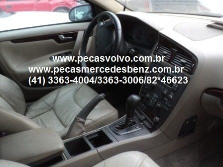 volvo v70 2000 batida vendida em peças sucata / farol / capo