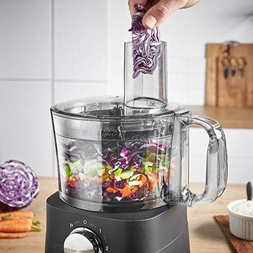 vonshef food processor, 8 cup, blender, chopper, multi mixer