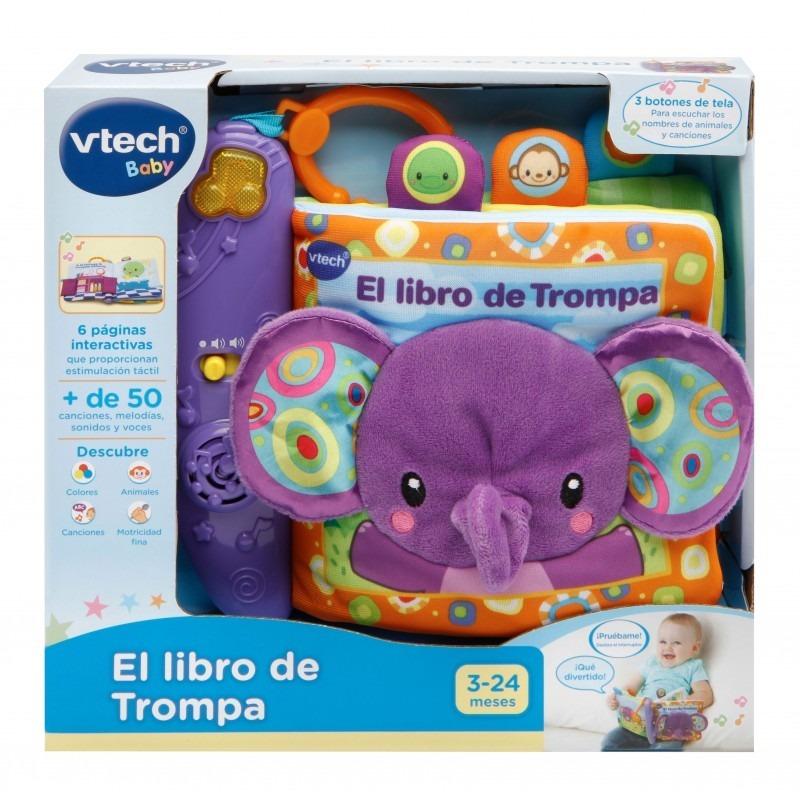 Vtech Libro Interactivo Para Bebe Con Luz Y Sonidos - $ 2.200,00 en ...