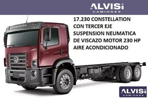 vw 17-230 constellation a/a 3er eje susp neumática + iva