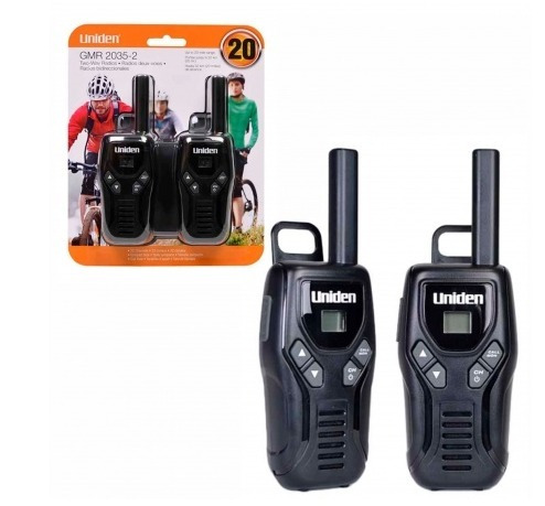 walkie talkie handy uniden 2 vias uriel importaciones