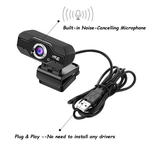 webcam, con micrófono