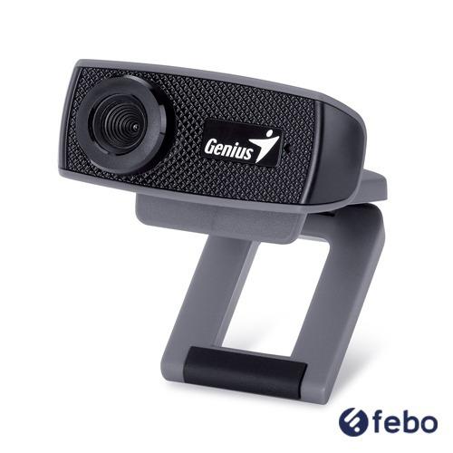 webcam con microfono genius