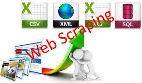 webscraping - extracción de datos de la web. rpa