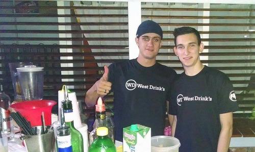 west drink´s: servicio de barman, barra de tragos, eventos