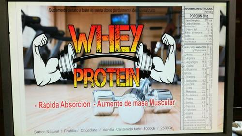 whey protein,promo 3kg en tarro,maxima calidad garantizada.