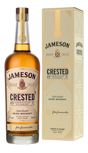 whiskey jameson crested
