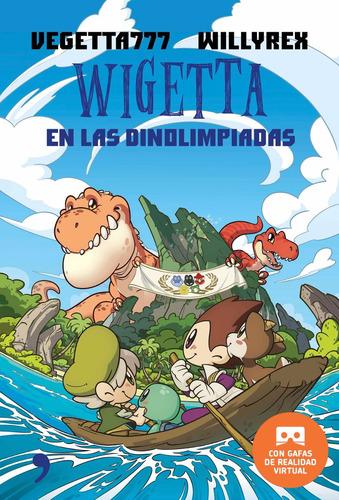 wigetta dinolimpiadas + gafas vr - vegetta777 | willyrex