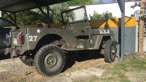 willys jeep cj 2 a -  año 1949