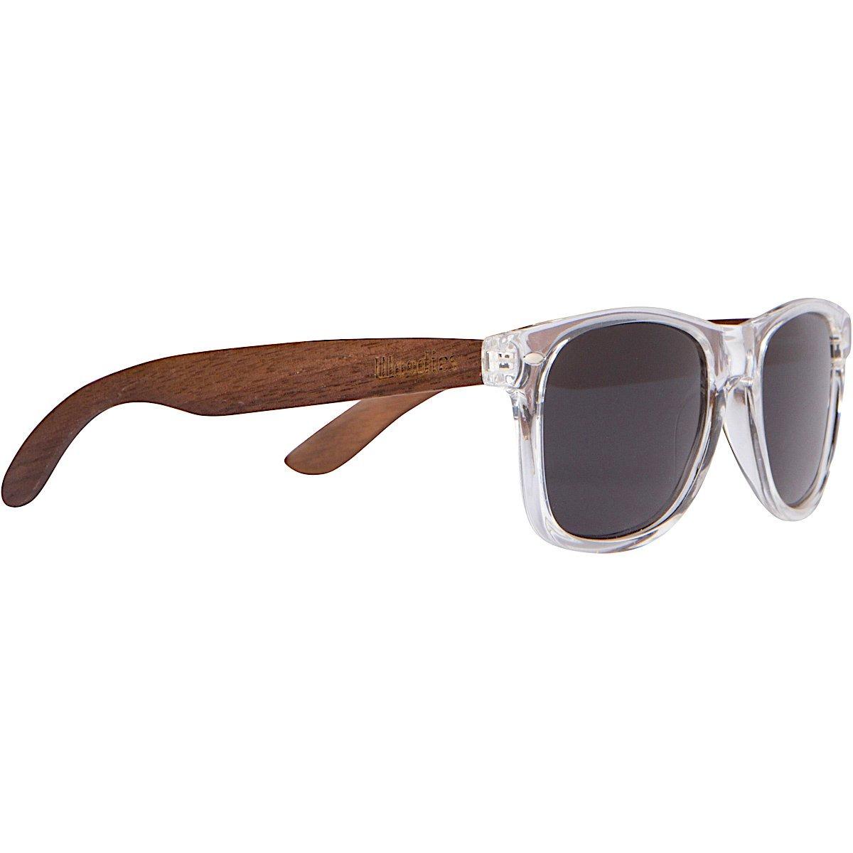 5deddc0ea woodies gafas de sol de madera de nogal con marco transpa. Cargando zoom.