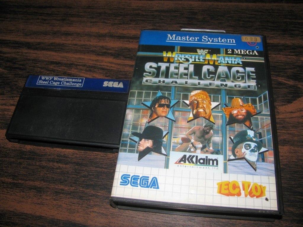Wrestlemania Steel Cage Juego Original Sega Master System 690