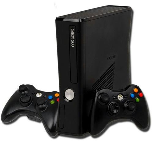 x box 360+kinect+2mandos con bateria recargable+32juegos