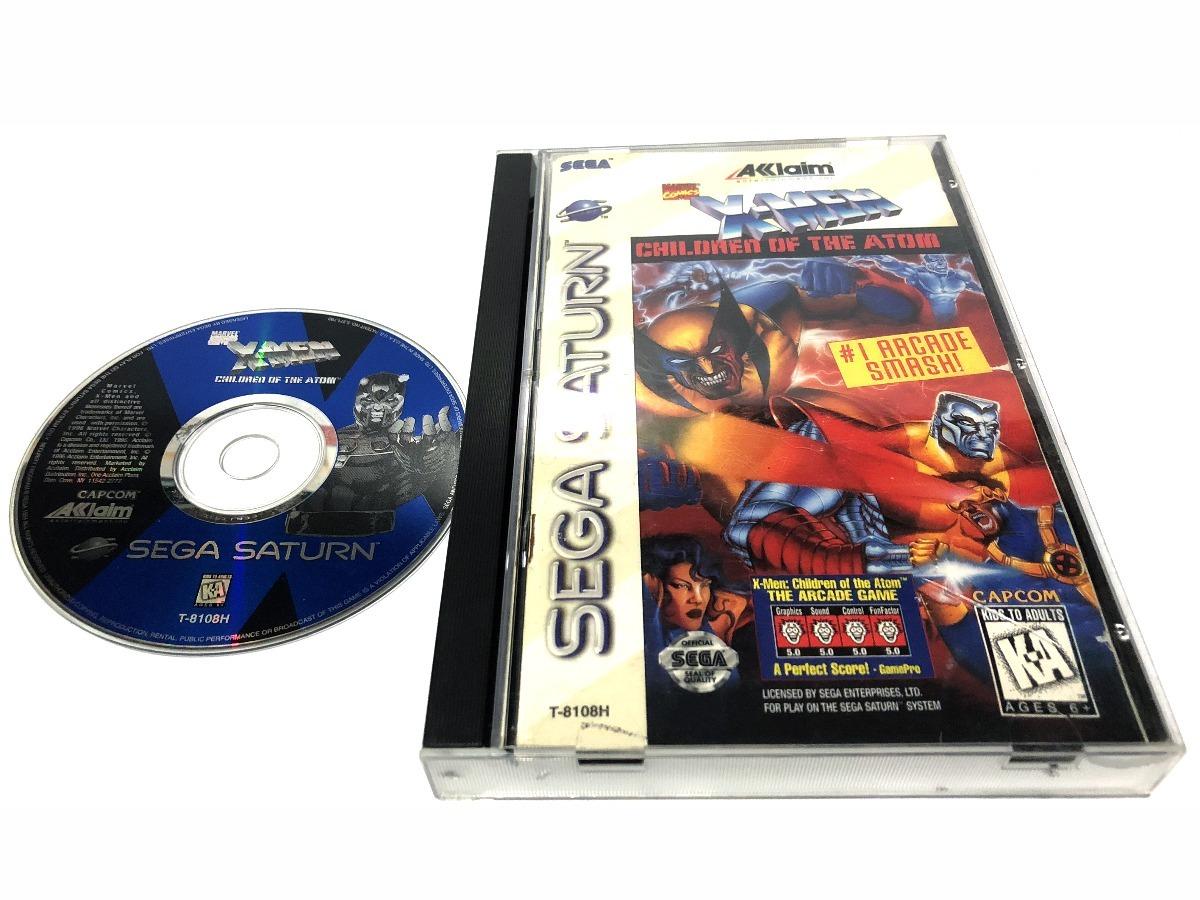 X Men Children Of The Atom Juego Original Para Sega Saturn U S