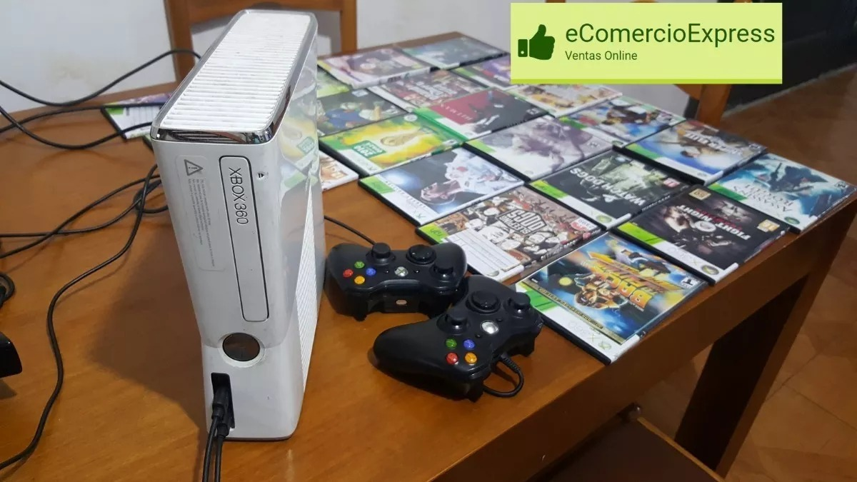 Xbox 360 Rgh Con Kinect Pendrive 2 Joistick 20 Juegos