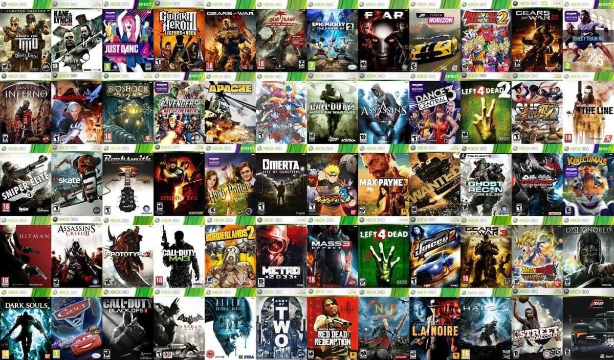 Xbox 360 Kinect 3800 Juegos 1 Control Original 11 900 00 En