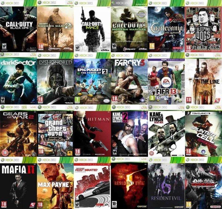 Xbox 360 Rgh Juegos Nuevos Garantidos Rmc 100 00 En Mercado Libre