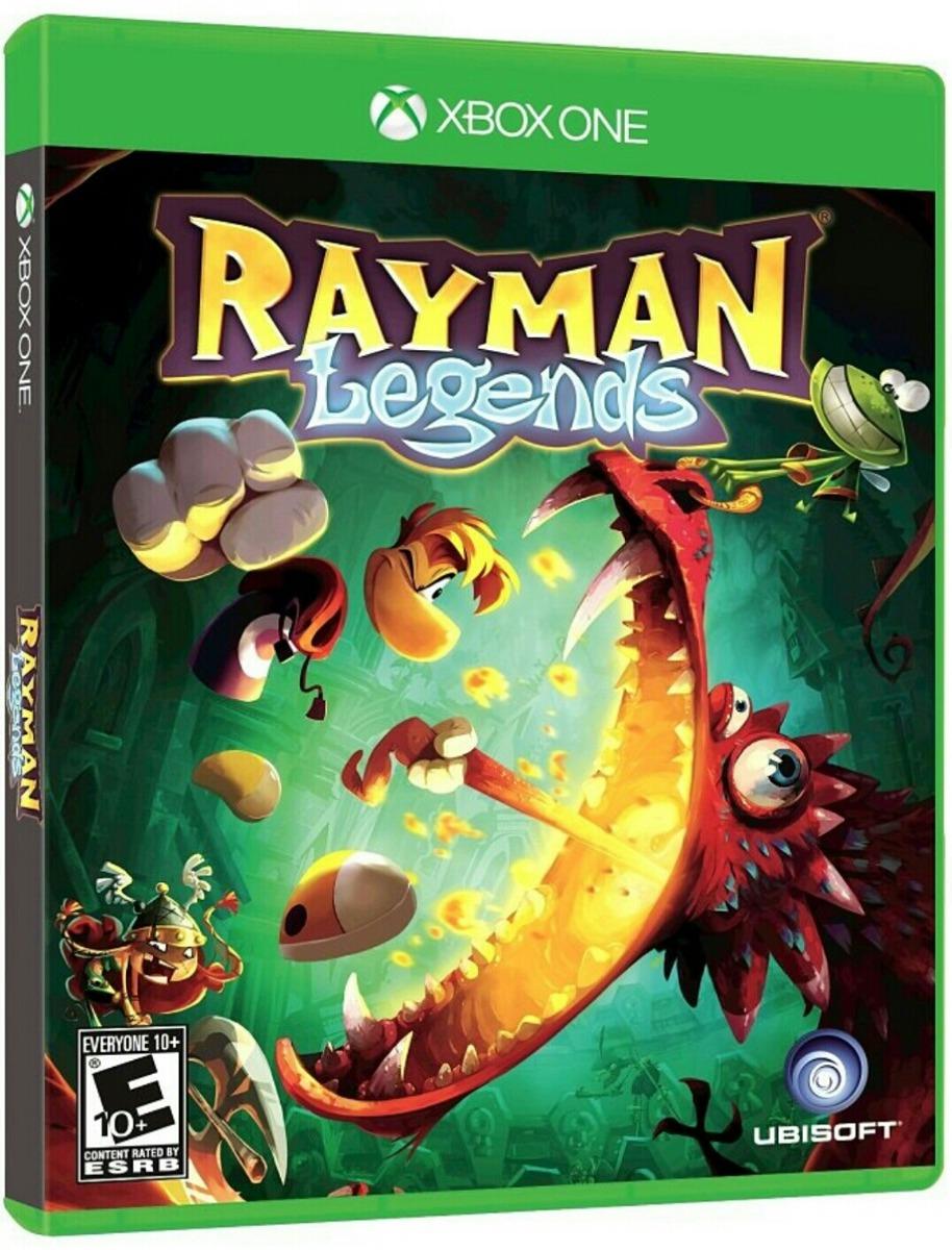 Rayman Legends Xbox One Aventuras Gtia Juego Gratis 1 500