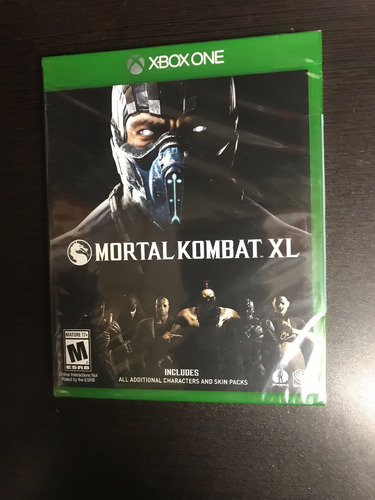 xbox one mortal kombat