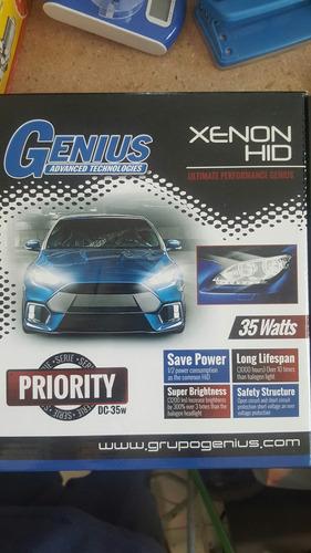 xenón instalado