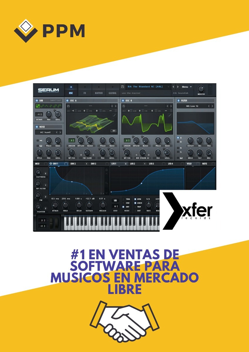 Xfer Serum + Presets + Lfo Tool | Oferta P P M