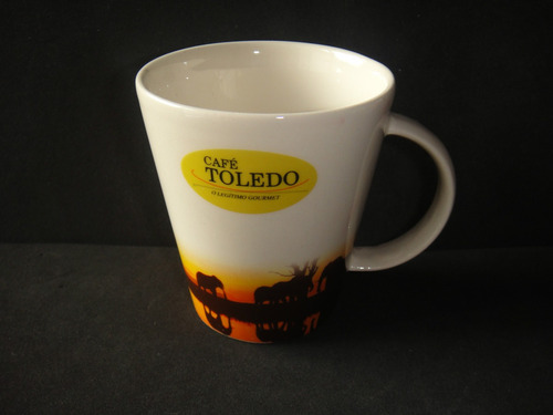 xícara caneca mug café toledo e amarula propaganda