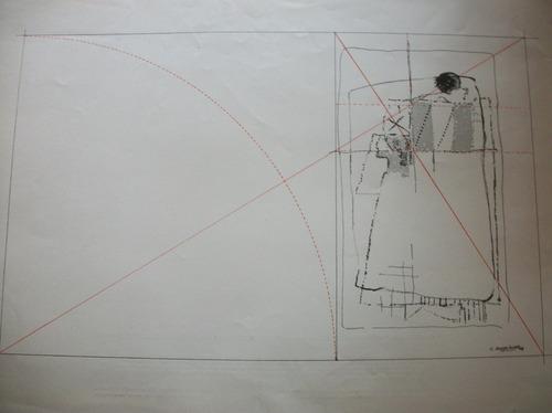 xilografia de carlos rodriguez. obra premiada año 1978
