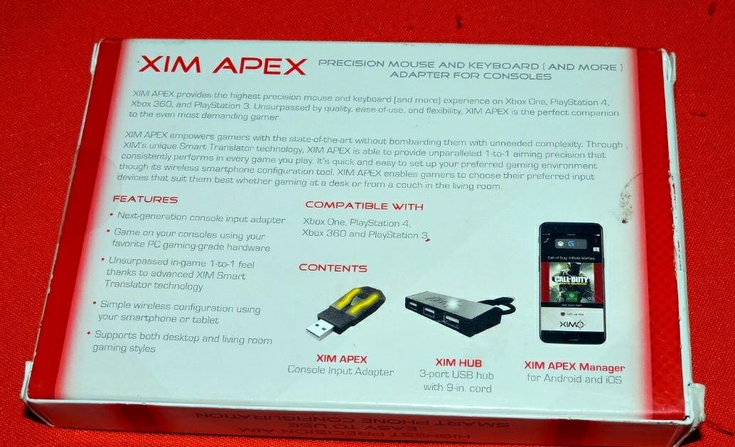 Xim Apex Adaptador Mouse Y Teclado Ps4 / Xbox One, Macrotec