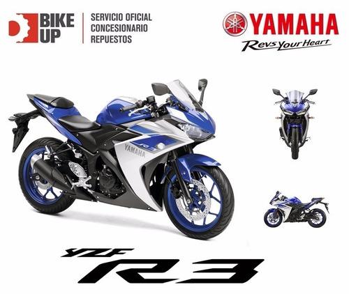 yamaha alta gama - tu 0km 100% financiada - permutas bike up