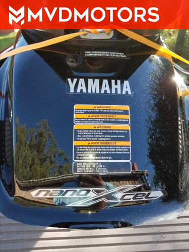 yamaha fx high output nanoxcel 44 horas de uso unico