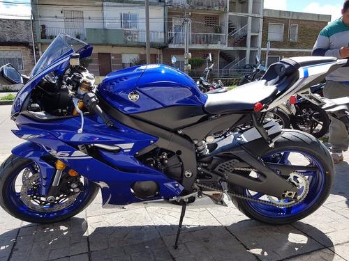 yamaha r6 2018 - tasa 0 - tomamos tu moto usada - bike up