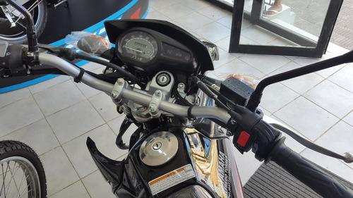 yamaha xtz 125cc 2018 negra, blanca y azul